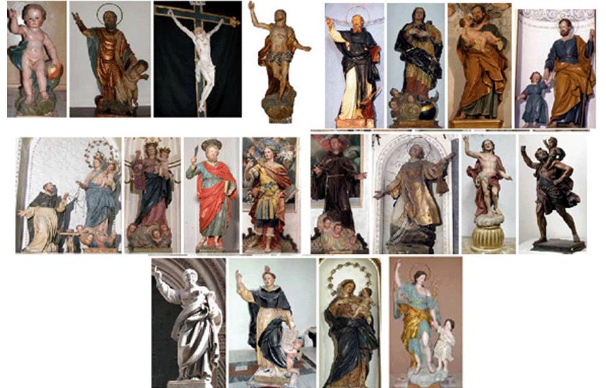 A-Cefalù-la-statua-dell'Annunziata,-opera-del-Quattrocchi,-custodita-a-Cefalù.